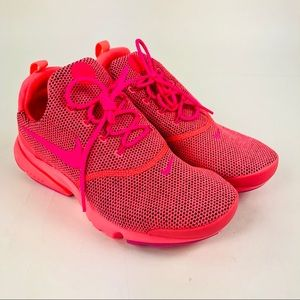 Nike Presto Fly SE Hot Punch Pink Running Shoes 7